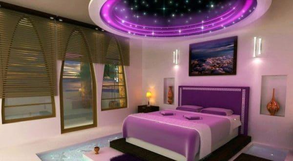 натяжной потолок 3д звездное небо