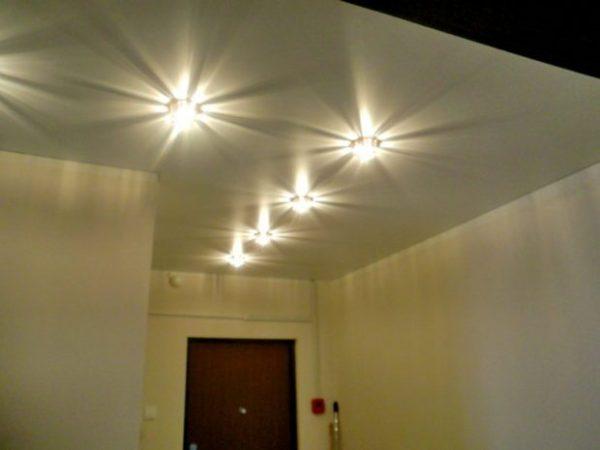 светодиодные лампы для натяжного потолка