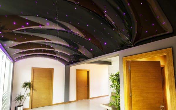 натяжные потолки 3d арка