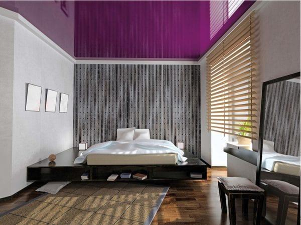 Натяжной потолок Extenzo в спальне