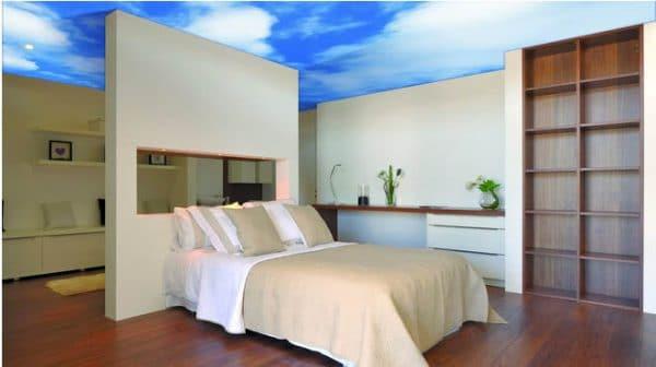 спальня с натяжным потолком Newmat