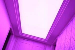 Натяжные потолки Pongs с подсветкой