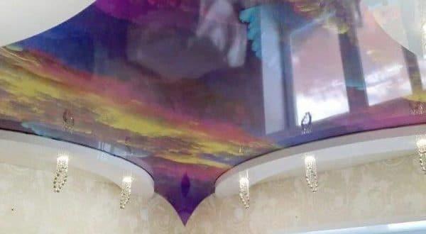 Дышащий натяжной потолок: плюсы и минусы