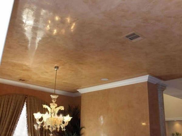натяжной потолок венецианская штукатурка