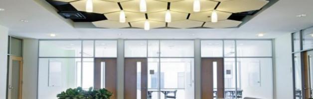 Что такое акустические натяжные потолки