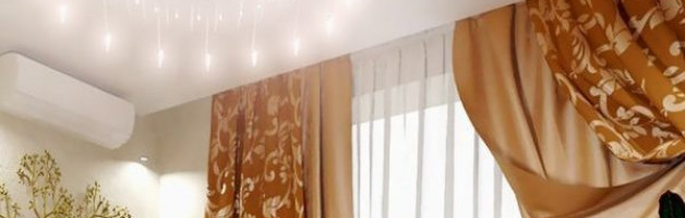 потолочный карниз для натяжного потолка