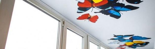 морозостойкие натяжные потолки