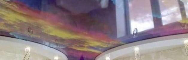 дышащие натяжные потолки